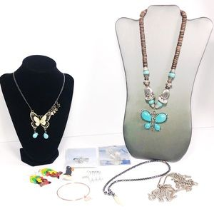 Not so Mystery Animal / Insect Jewelry Bundle